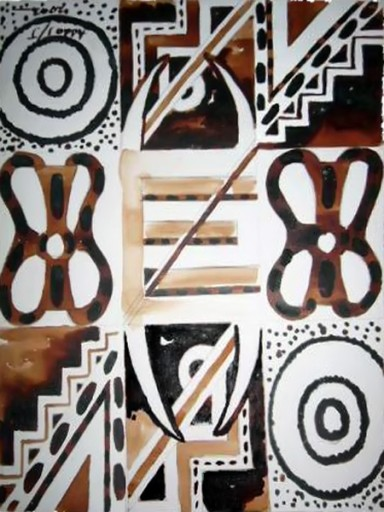 African-Oil-painting-Edinkra-Combination