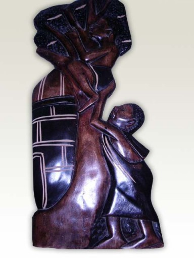 Carving-African-Children-B