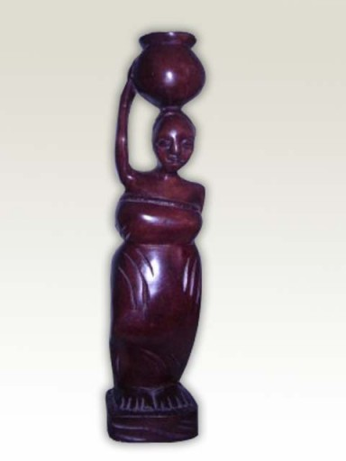 Sculpture-African-Village-Lady