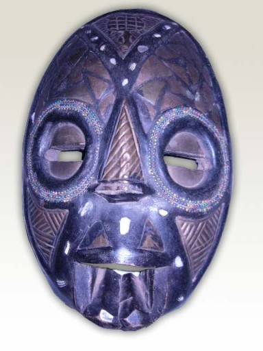 African-Masks-Moon-Face