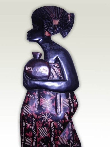 Carving-African-Market-Lady