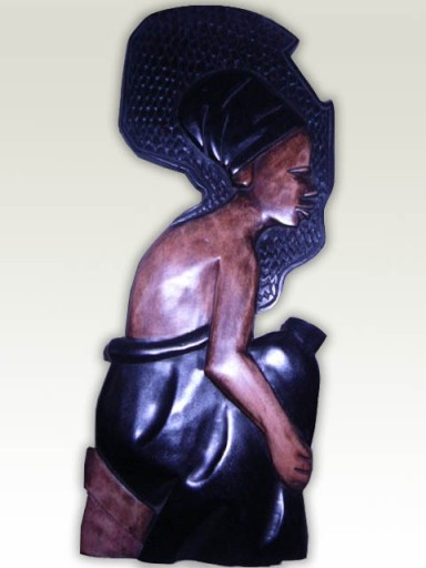Carving-African-Old-Man