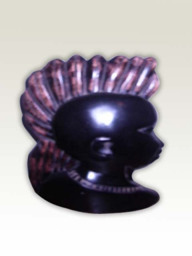 Sculpture-African-Army-Head
