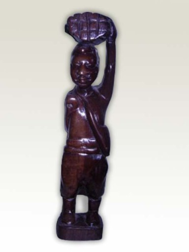Sculpture-African-Village-Man