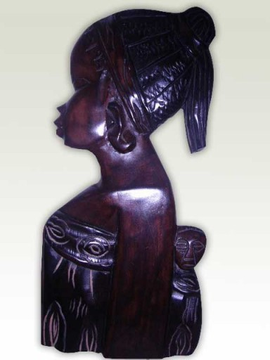 Carving-African-Lady